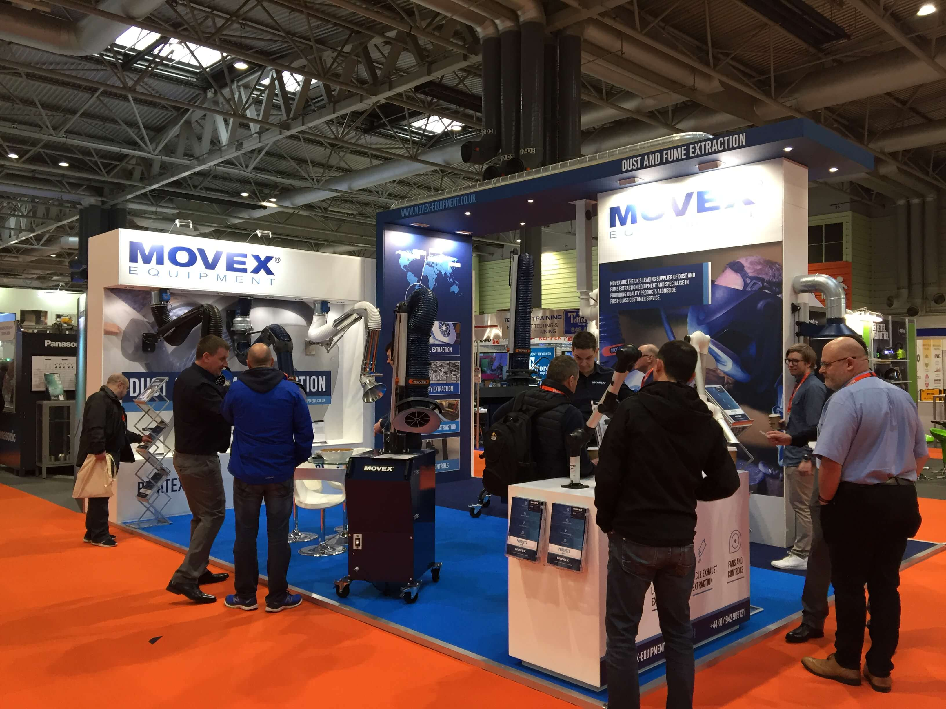 Movex Go All Out at the MACH Show
