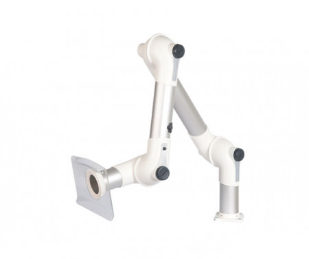 MEB Table Mounted Extraction Arm (3 Joints)