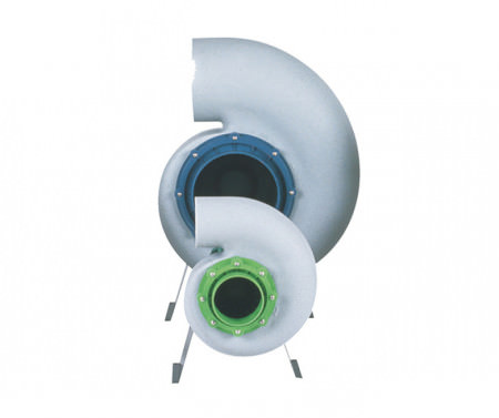 P Polypropylene Fan (1 Phase)