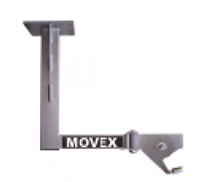TIX-EXH 180° 1 Joint ceiling bracket
