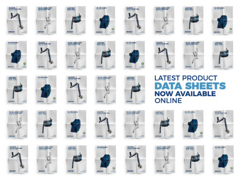 Latest Product Data Sheets Now Available Online